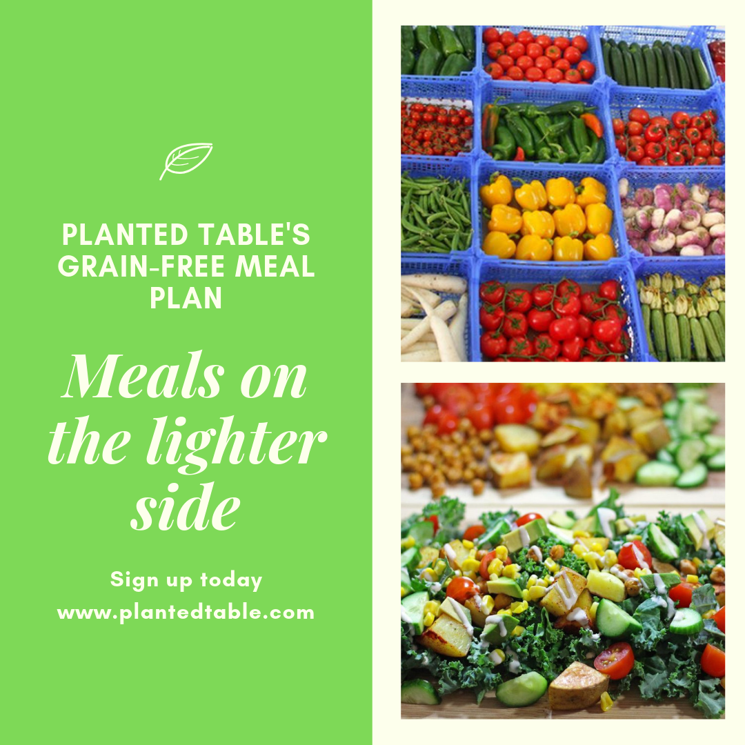 Planted Table's Grain-Free Plans