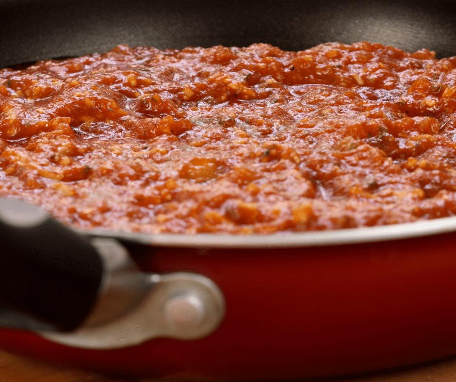 The Best Marinara Sauce