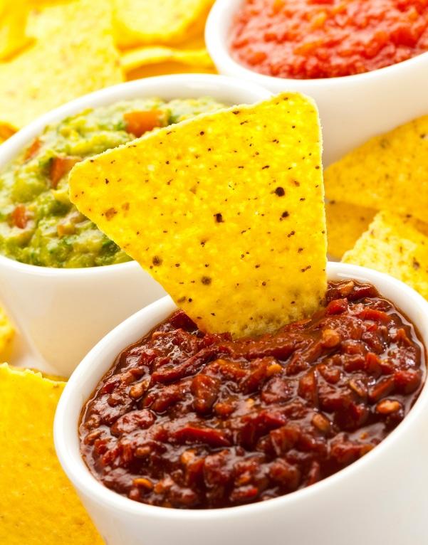 Freshly made, vegan organic chipotle salsa